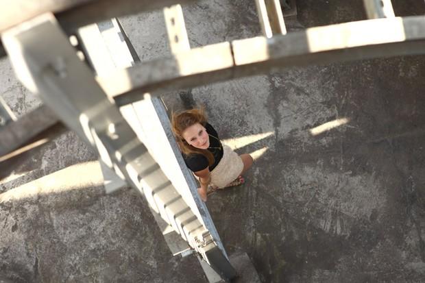 Carol Abras posa para o EGO (Foto: Iwi Onodera/EGO)