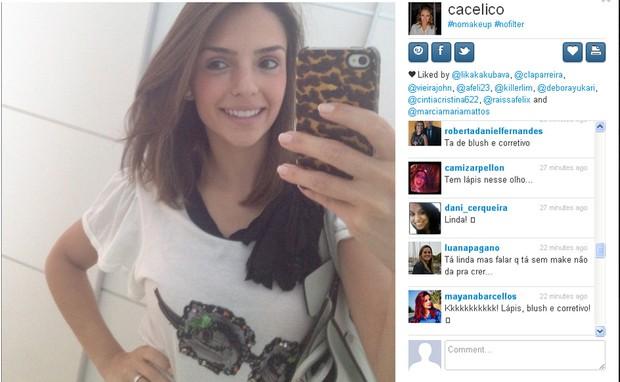 Carol Celico (Foto: Reprodução/Instagram)