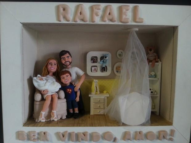 Lembrancinha de Rafael, filho de Claudia Leitte (Foto: Divulgação)