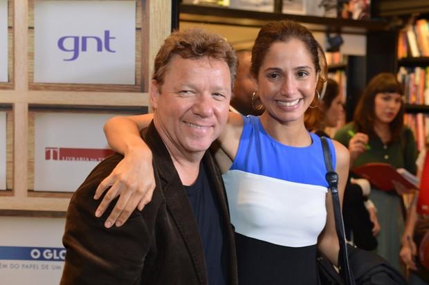 Camila Pitanga e Claude Troigois (Foto: André Muzell / AgNews)