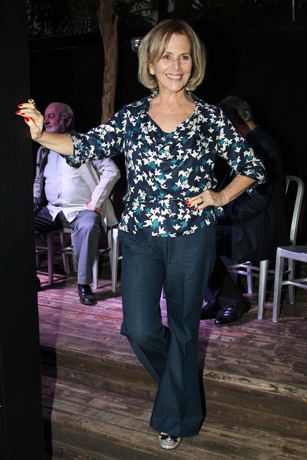 Irene Ravache na coletiva de 'Guerra dos Sexos' (Foto: Manuela Scarpa / Foto Rio News)