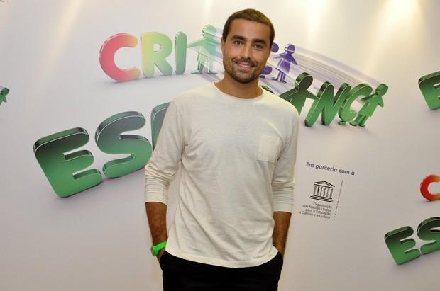 Ricardo Pereira no Criança Esperança (Foto: Roberto Teixeira/EGO)