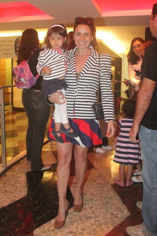 Giovanna Antonelli e filhas (Foto: Rodrigo dos Anjos / AgNews)