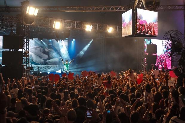 Luan Santana em show no Rio (Foto: Marcos Samerson / Agência We Love Photo)