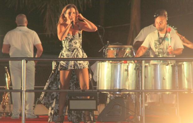 Ivete em Belem do Para (Foto: Wesley Costa/Agnews)