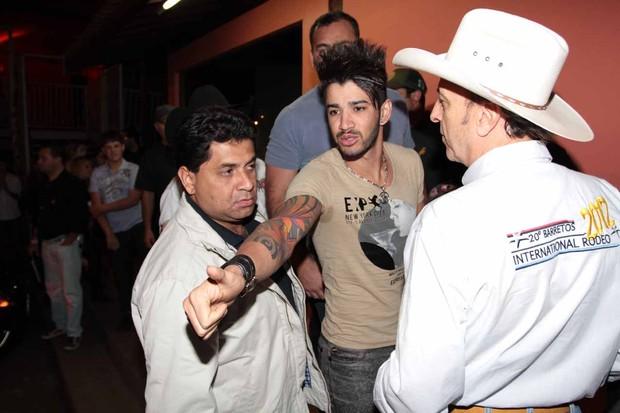 Gusttavo Lima (Foto: Francisco Cepeda e Orlando Oliveira/AgNews)