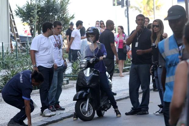 Gravação Avenida Brasil em Ipanema (Foto: Wallace Barbosa/AgNews)