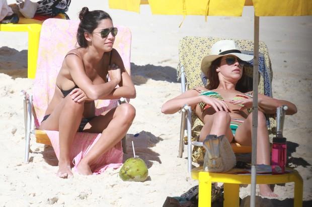 Thaila Ayala e Fernanda Paes Leme (Foto: AgNews/Dilson Silva)