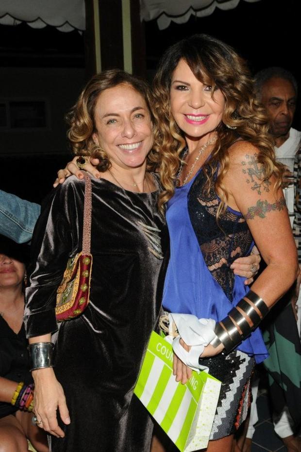 Elba Ramalho e Cissa Guimarães (Foto: Facebook/ Reprodução)