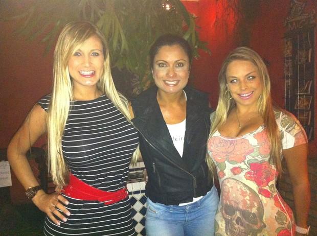 Andressa Urach, Dani Sperle e Jéssica Lopes (Foto: Cacau Oliver / Divulgação)