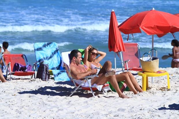 Malvino Salvador e Sophie Charlotte (Foto: Clayton Militão/ Photo Rio News)
