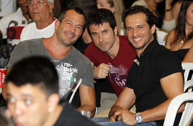 Malvino Salvador, Eriberto Leão e Paulo Rocha (Foto: Leotty Jr/Ag News)