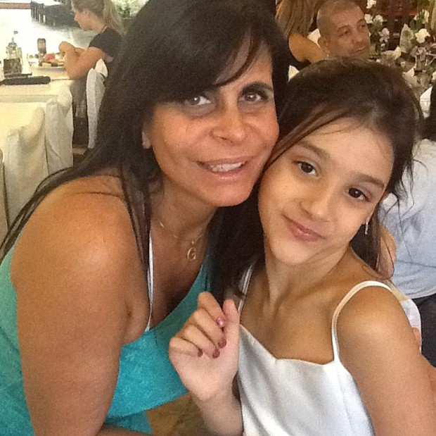 Gretchen e sua neta (Foto: Instagram/Reprodução)