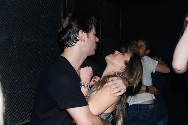 Patrícia Abravanel e Marcos Faria (Foto: Milene Cardoso e Amauri Nehn / AgNews)