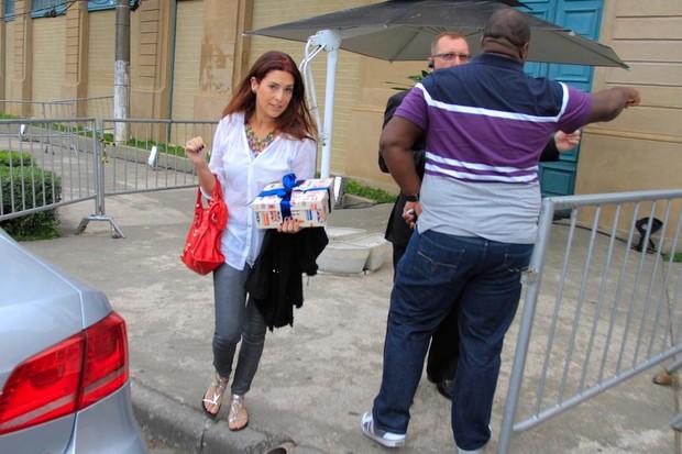 Fernanda Paes Leme (Foto: Danilo Carvalho / AgNews)