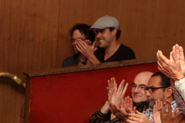 Joaquim Lopes em peça em Niterói (Foto: Marcello Sá Barretto/ Foto Rio News)