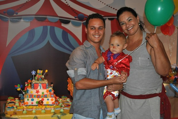 Aniversário de Benjamim, filho de Solange Couto (Foto: Instagram / Reprodução)