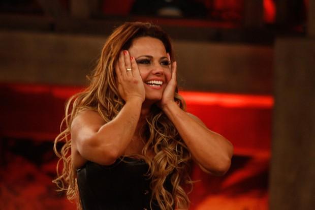 Viviane Araújo na final de 'A Fazenda 5' (Foto: Amauri Nehn/ Ag.News)