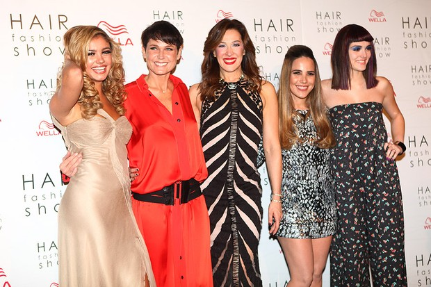 Sophie Charlotte, Xuxa, Cláudia Raia, Wanessa e Isabelle Drumond (Foto: Iwi Onodera/ EGO)