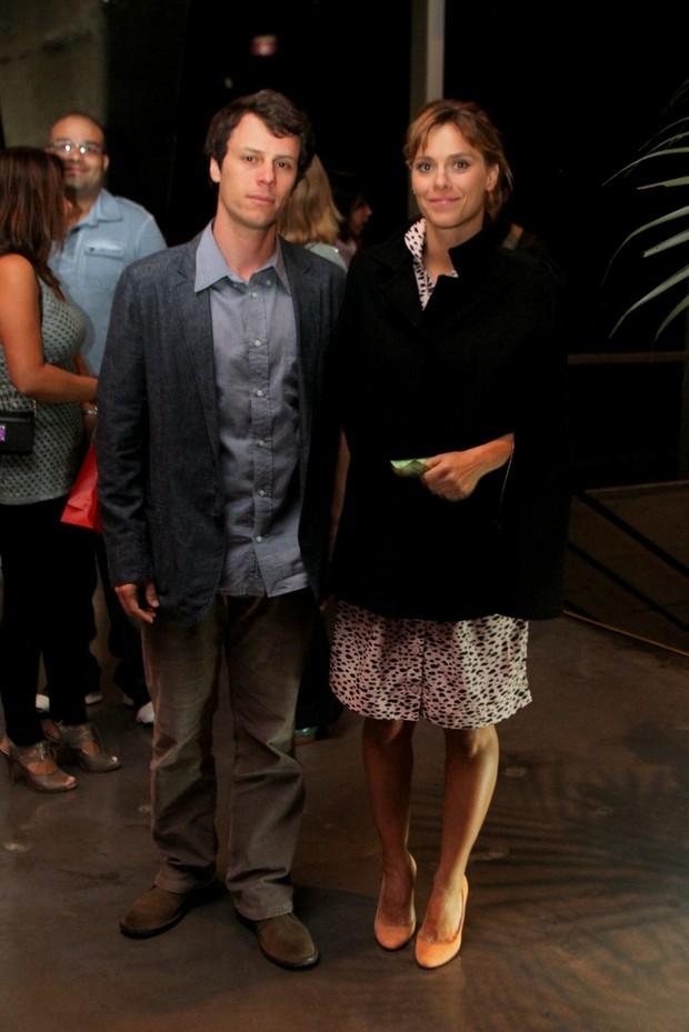 Tiago Worcman e Carolina Dieckmann (Foto: Marcello Sá Barreto/Photorionews)