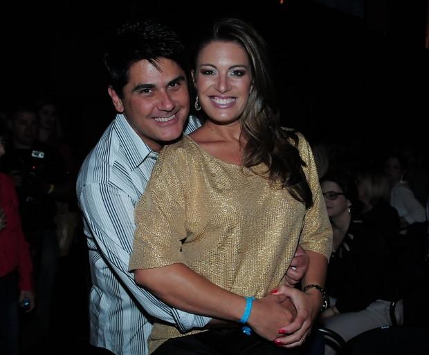 César Filho e Elaine Mickely (Foto: Francisco Cepeda/Agnews)
