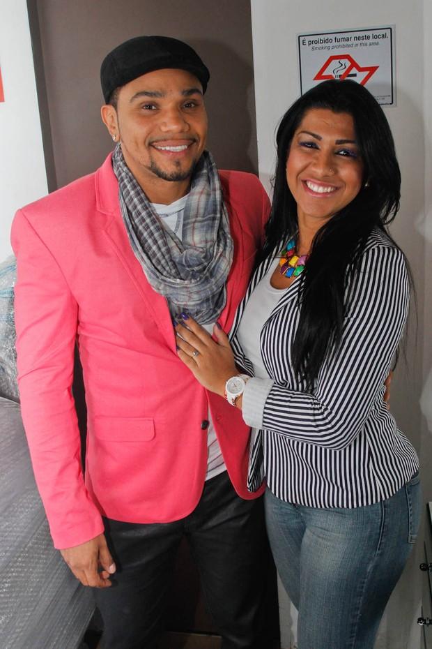 Naldo e Moranguinho (Foto: Thiago Duran/Agnwes)