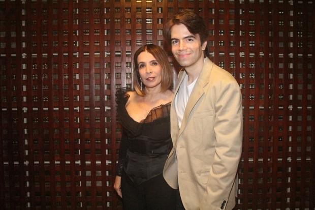 Liège Monteiro e o marido, Luís Fernando Coutinho (Foto: Rodrigo dos Anjos/Agnews)