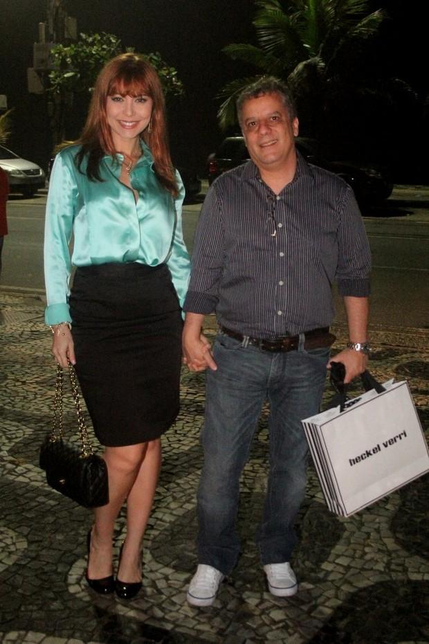 Simone Soares e Mario Meirelles (Foto: Rodri)
