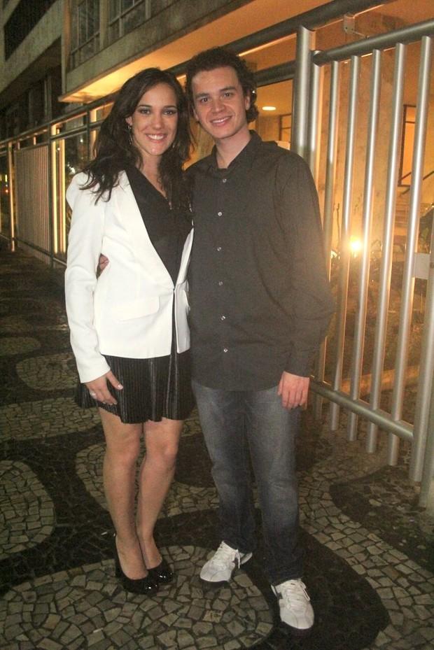 Adriana Birolli e Alexandre Contini (Foto: Rodrigo dos Anjos/Agnews)