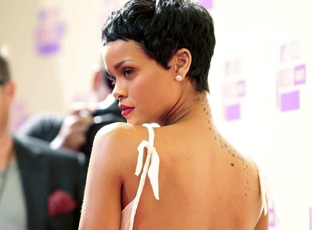 Rihanna no VMA (Foto: Reuters)
