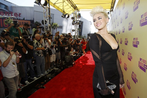 Miley Cyrus no VMA (Foto: Reuters)