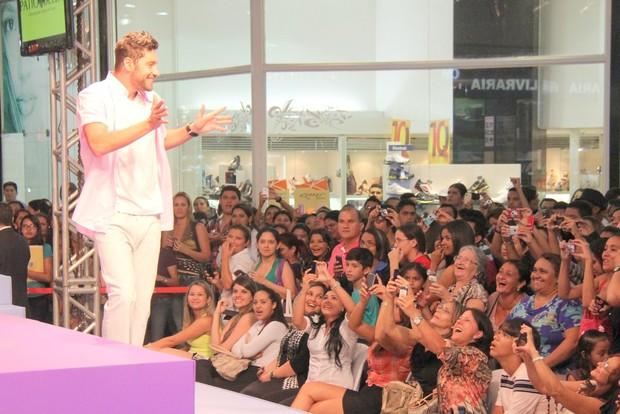 Victor Pecoraro desfila em Belém do Pará (Foto: Wesley Costa/ Ag. News)
