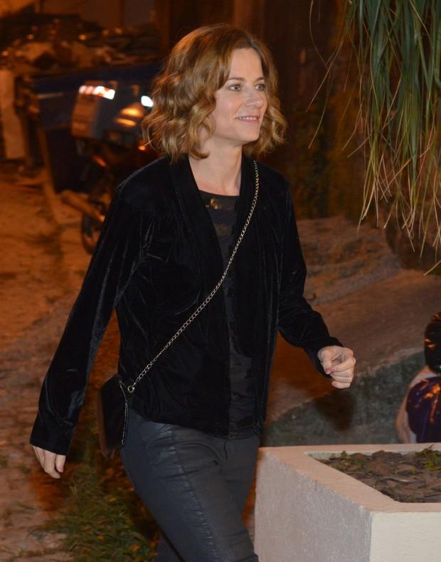 Vera Zimmerman em festa da cantora Ana Carolina no Rio (Foto: André Muzell/ Ag. News)