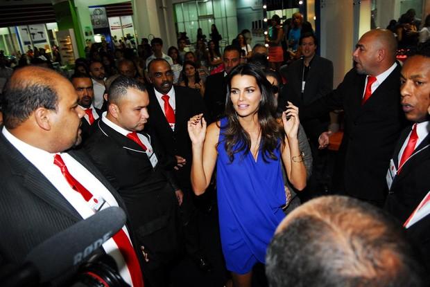Top Model Fernanda Motta no 1o. dia da 8ª Beauty Fair, em centro de exposições em SP (Foto: Claudio Augusto /Foto Rio News)