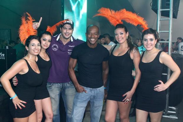 """Kleber Bambam e Lui Mendes vão ao evento """"Celebration Weekend Party""""  (Foto: Raphael Mesquita / Divulgação)"""