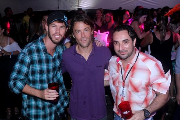 """Diego Aguiar e Kayky Brito vão ao evento """"Celebration Weekend Party"""" (Foto: Raphael Mesquita / Divulgação)"""