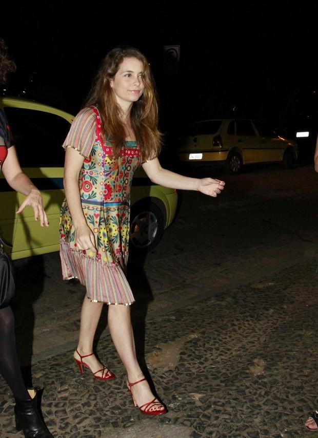 Cláudia Abreu vai ao aniversário de Leandra Leal (Foto: Felipe Panfili e Roberto Filho/AgNews)