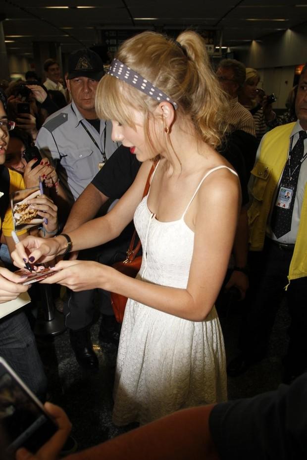 Taylor Swift (Foto: Delson Silva e Gabriel Reis /AgNews)