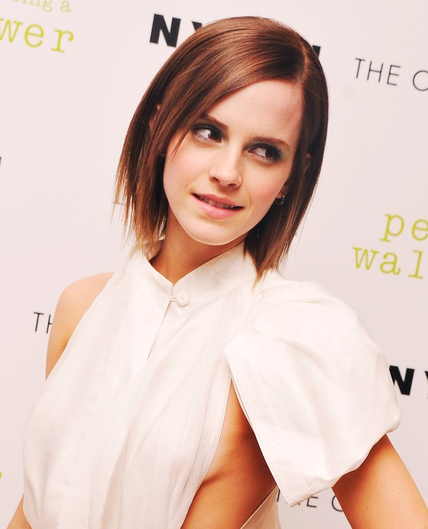 Emma Watson vai a evento de cinema em Nova York (Foto: Getty Images)