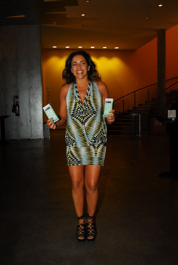 Daniela Mercury (Foto: Celso Akin/Foto Rio News)