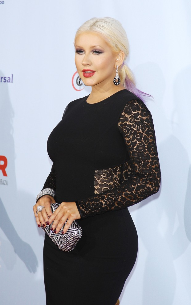 Christina Aguilera em evento na Califórnia (Foto: Getty Images)