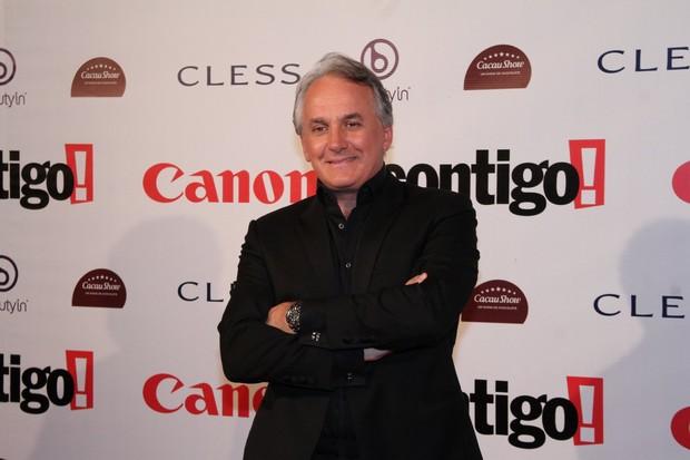 Otávio Mesquita no Prêmio Contigo! de Cinema (Foto: AgNews)
