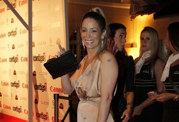 Danielle Winits no Prêmio Contigo! de Cinema (Foto: Isac luz / EGO)