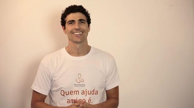 Reynaldo Gianecchini participa de Movimento Contra o Linfoma (Foto: Divulgação)