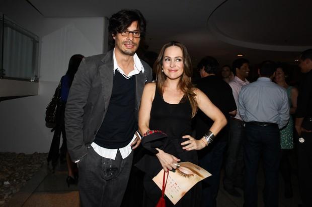 Daniel Alvim e Gabriela Duarte em estreia de peça em São Paulo (Foto: Manuela Scarpa/ Foto Rio News)