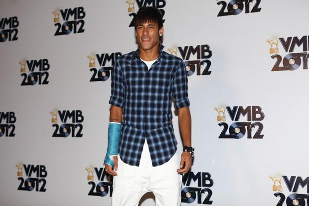 Neymar no VMB em São Paulo (Foto: Iwi Onodera/ EGO)