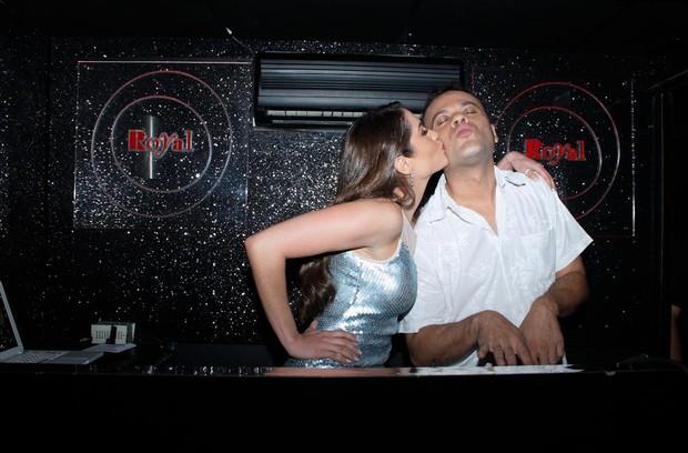 Maria Melilo e Daniel (Foto: Amauri Nehn/ Ag.News)