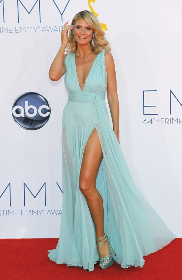 Heidi Klum no Emmy Awards (Foto: Reuters)