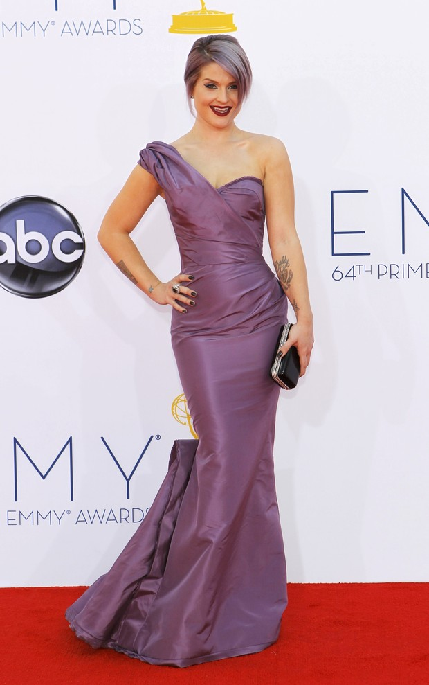 Kelly Osbourne no Emmy Awards (Foto: Reuters)