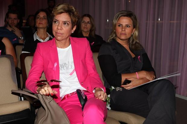 Astrid Fontenelle e Maria Candida (Foto: Iwi Onodera/ EGO)